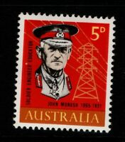 Australia 1965 5d Sir John Monash SG378 MNH