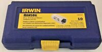 Irwin Hanson 3094102 Deep Well Thread Chaser Set - 10-Pc SAE Complete Set USA