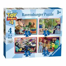 4 in 1 Puzzle Box | Toy Story 4 | Ravensburger | Kinder Puzzle | Woody, Forky