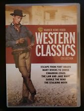 Warner Home Video Western Classics Collection RARE OOP DVD 6-Disc Set