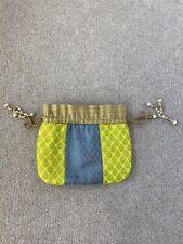 Indian Polti Embroidery Bag Pearl Handle & Tassel Ethnic Purse Women's Handbag
