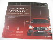 Adventskalender Mercedes-AMG GT Advent Calendar - Franzis -Autobausatz Baukasten