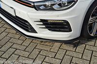 Sonderaktion Spoilerschwert Frontspoiler Cuplippe aus ABS VW Scirocco R mit ABE