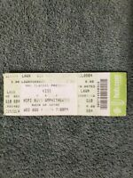KISS 2004 ROCK THE NATION WORLD TOUR CONCERT TICKET STUB