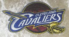 "Cleveland Cavaliers 3.5"" Iron On Embroidered Patch~USA~FREE Ship"