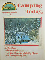 Camping Today Magazine December 1997 Family Campers & Rvers Near Mint