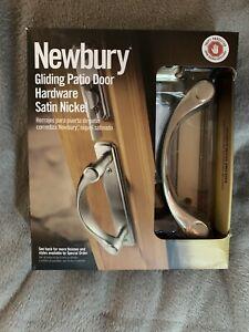 Andersen Estate Newbury Gliding Patio Door Hardware Satin Nickel Finish HANDLE