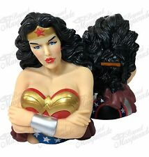 DC Comics Marvel Wonder Woman Figure Statue Bust Licensed Piggy Coin Bank