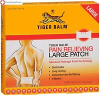 Tiger Balm Pain Relieving Large Patch  8x4 inches 4PK