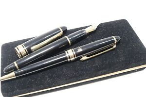 Vintage PM Luft Fountain Pen Ballpoint Pen Set Iridium Gold Nib Germany