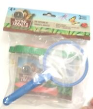 NEW  Backyard Travels Bug Catching Kit Everything Kids Need To Study Bugs
