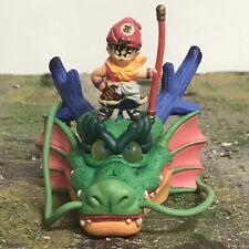 "MegaHouse DBZ Dragon Ball Z Kid Goku Shenron 3"" Gashapon Monkey King Figure 2393"