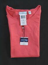 Outer Banks Women's Short Sleeve Open Collar Mango Sport Shirt Size XL