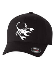 SCORPIO HOROSCOPE ASTROLOGICAL SIGN ZODIAC * FLEXFIT HAT *FREE SHIPPING in BOX*