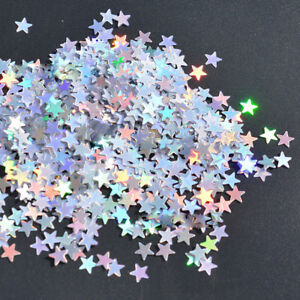 JW_ BH_ HK- 3000/1000Pcs Glitter Star Shape Balloon Confetti Table Wedding Par