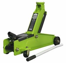 New Sealey 3 Ton Heavy Duty Hydraulic Lift Lifting Trolley Jack Van Car 1153CXHV