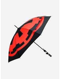Darth Vader Star Wars Light Saber Umbrella Lightsaber Disney NEW