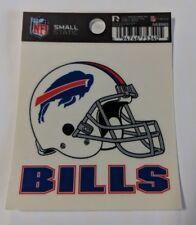 """Buffalo Bills Helmet 3 x 4"""" Small Static Cling - Truck Car Auto Window Decal NEW"""