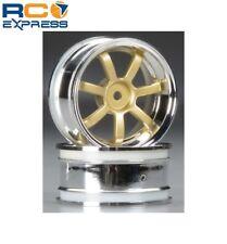 HPI Racing Rays Gram Lights 57S-PRO Wheels Chrome/Gold 3mm Offset  HPI3319