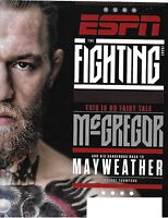 ESPN MAGAZINE AUGUST 21 2017-  THE FIGHTING  MCGREGOR/MAYWEATHER NO FAIRY TALE