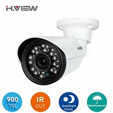H.View 900TVL Outdoor CCTV Security Camera IR Color Day&Night Vision 3.6mm Lens