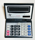 Iadong Solar Calculator, Foldable Flip-up Electronic Desktop Calculator 12 Digit