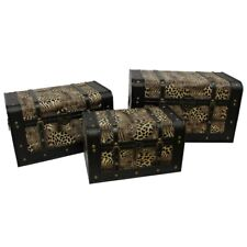 Animal Print Trunks - set of 3 - includes shipping