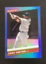 Tony Gwynn 2020 Donruss 1986 Retro Holo BLUE #218  SD Padres HOF