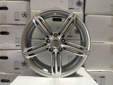 "19"" SILVER AUDI RS6 WHEELS RIMS VW VOLKSWAGEN EOS CC R32 5X112 BRAND NEW"