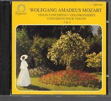 CD COMPIL 6 TITRES--WOLFGANG AMADEUS MOZART--CONCERTOS POUR VIOLONS 3 & 4