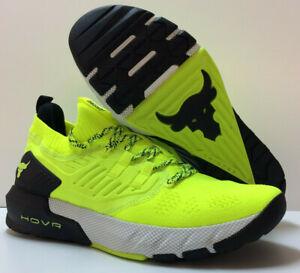 Hot Under Armour Men's UA Project Rock 3 Training Shoes Dwayne Johnson Yellow