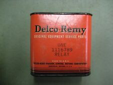 New Delco Remy 6 Volt Universal Headlight Relay # 1116789 1932-1954 GM Car Truck