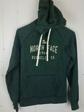 North Face Hoodie Women's Size S Long Sleeve Green Sweatshirt