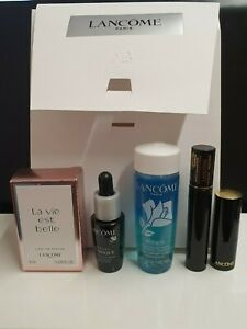 Lancome Makeup Remover, Mascara ,Lipstick ,Parfum,Genifique Youth Activating SET
