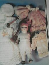 "PATTERN FOR  ANTIQUE ALL BISQUE MIGNONETTE  5"" DOLL JEAN NORDQUIST RARE"