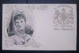 Royalty Postcard: Queen Alexandra Edward VII Coronation. Unposted Undivided Back