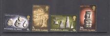Pitcairn Islands 1971 Polynesian Rock Art/Carving/Statue/Tools 4v set (n13730)