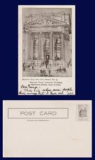 US NEW YORK BROOKLYN PEOPLE'S TRUST COMPANY MONTAGUE ST. NEAR CLINTON CIRCA 1906