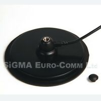 LARGE 160 MM Magnetic Mount 3/8 Fitting Rubber Boot  for CB & HAM