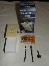 MONEY JEWELRY CASH ELECTRICAL OUTLET HIDDEN WALL SAFE