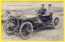 cpa AUVERGNE Course AUTOMOBILE COUPE GORDON BENNETT 1905 THÉRY avec M. BRASIER