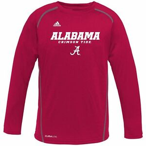 ($28) ADIDAS Alabama Crimson Tide Performance Jersey/Shirt YOUTH KIDS BOYS (xl)