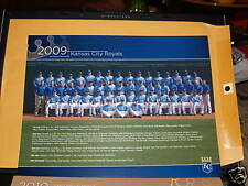 2009 Kansas City Royals 8X10 Team Picture.2010 Schedule