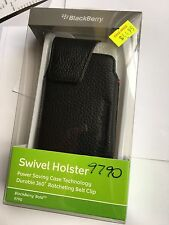 BlackBerry Leather Swivel Holster with Belt Clip for Bold 9790 ACC-41815-201