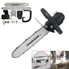 11.5'' Steel Electric Chainsaw Sharp Chain Saw Blade Stand for Angle Grinder