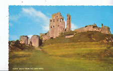 Dorset Postcard - Corfe Castle from The Lower Ward      XX104
