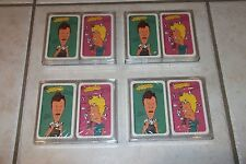 8 NEW PACKS OF BEAVIS & BUTTHEAD PLAYING CARDS *RARE. SEALED, NEW OLD STOCK!!!!