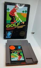 GOLF NES NINTENDO GAME IN BOX BLACK BOX