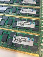 64GB (8x8GB) PC3-10600R DDR3-1600 ECC HP Memory Kits Proliant DL560 DL580 DL585