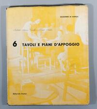 Domus Tavoli E Piani D'Appoggio 1948 tables eames zanuso perriand prouve neutra